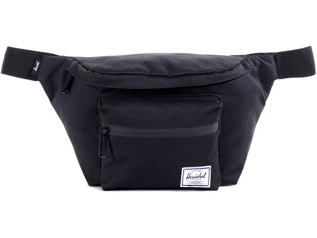 Herschel Seventeen Hip Pack black/black zipper